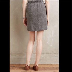 Anthropologie Skirts - Anthropologie Boardwalk Skirt Grey Small Miniskirt
